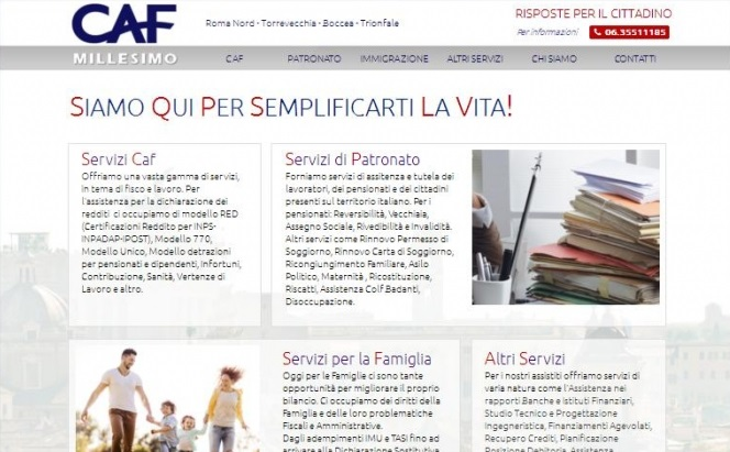 OurWeb Web Agency - CAF Millesimo 2