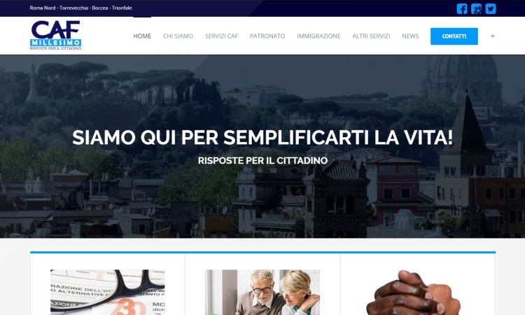 OurWeb Web Agency - CAF Millesimo