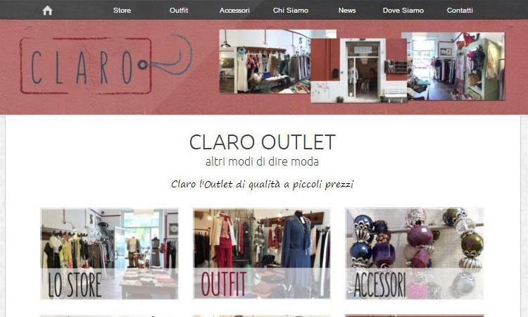 OurWeb Web Agency - Claro Outlet