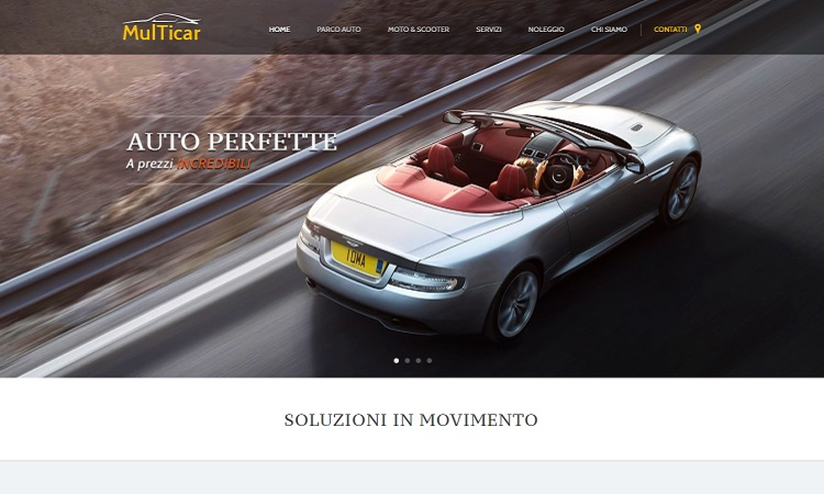 OurWeb Web Agency - Multicar Auto