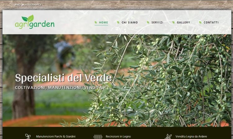 OurWeb Web Agency - Agrigarden Bucciano