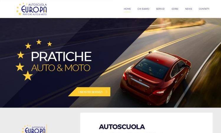 OurWeb Web Agency - Autoscuola Europa