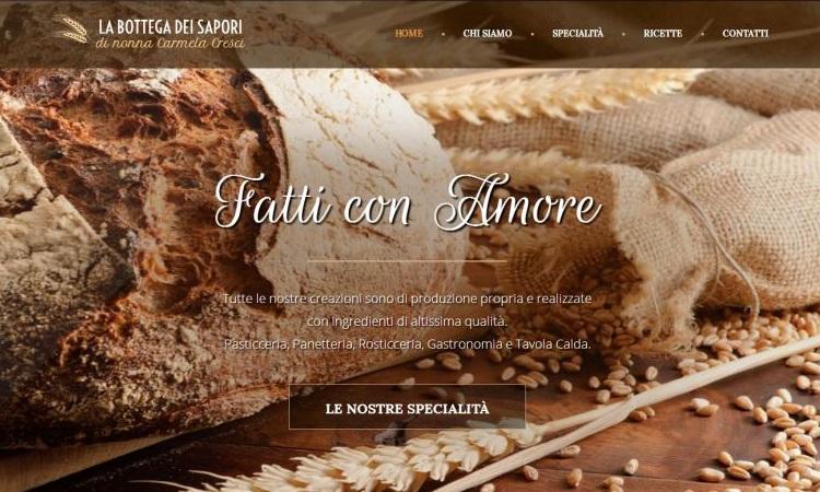 OurWeb Web Agency - La Bottega dei Sapori
