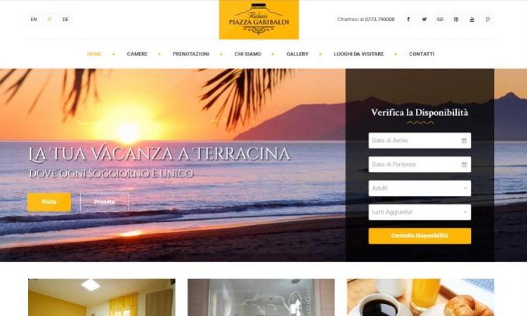 OurWeb Web Agency - Relais Piazza Garibaldi