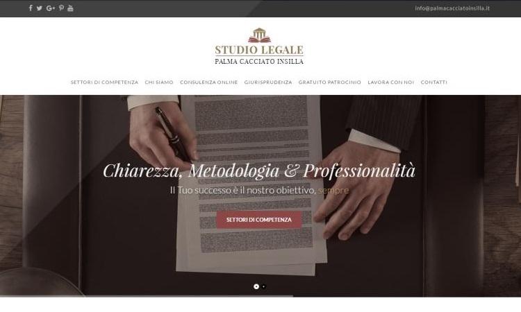 OurWeb Web Agency - Palma Cacciato Insilla Studio Legale