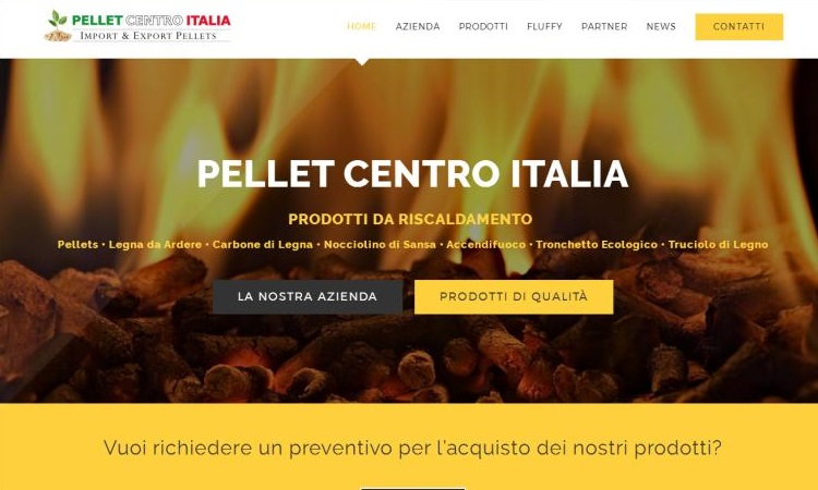 OurWeb Web Agency - Pellet Centro Italia 2