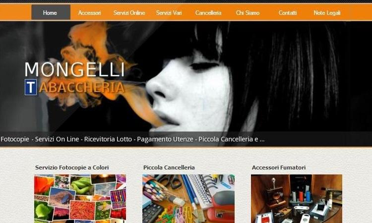 OurWeb Web Agency - Tabaccheria Mongelli 2