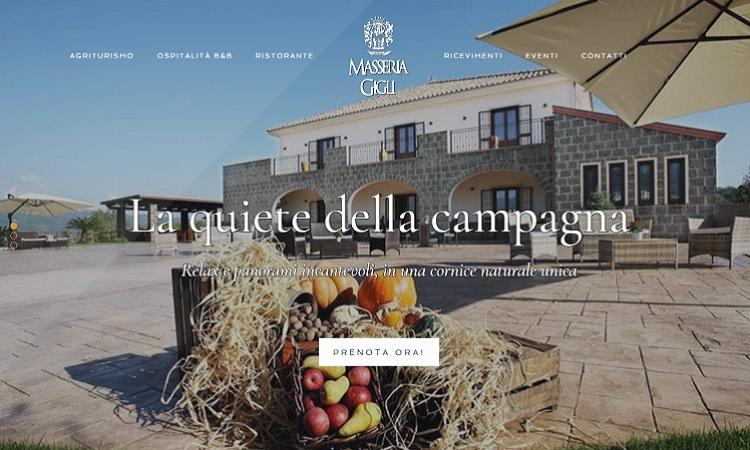 OurWeb Web Agency - Masseria Gigli