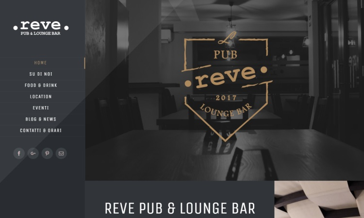 OurWeb Web Agency - Reve Pub e Lounge Bar