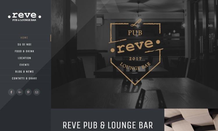 OurWeb Web Agency - Reve Pub e Lounge Bar