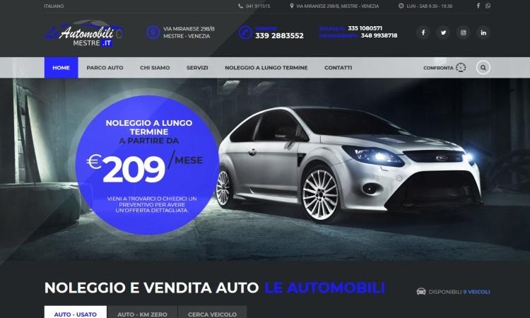 OurWeb Web Agency - Le Automobili Mestre