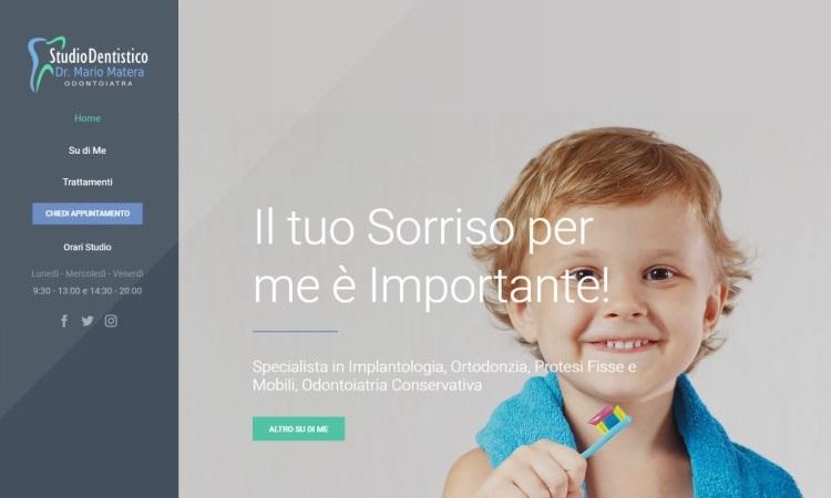 OurWeb Web Agency - Dr Matera Mario Dentista