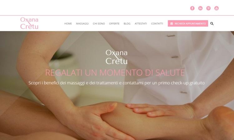OurWeb Web Agency - Il Dono del Massaggio