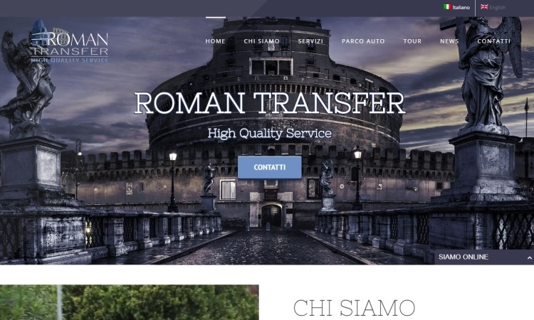 OurWeb Web Agency - Roman Transfer