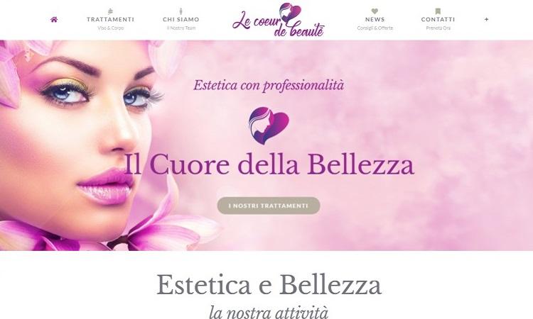 OurWeb . web agency - le coeur de beaute