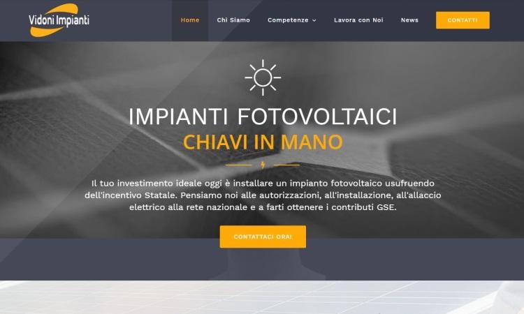OurWeb Italia Vidoni Impianti