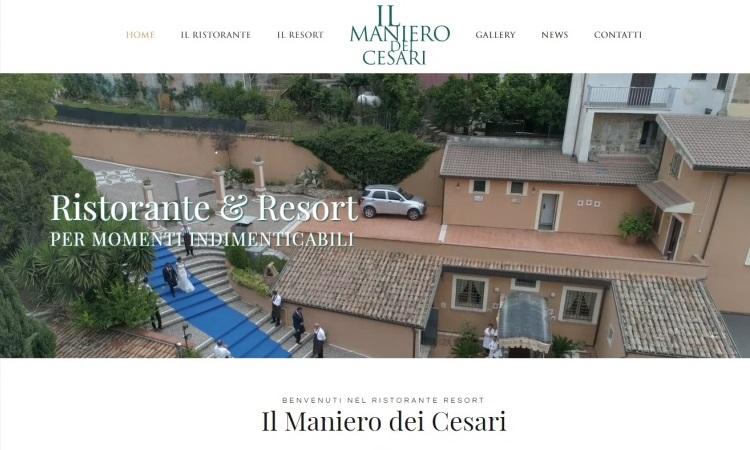 OurWeb Web Agency Il Maniero dei Cesari