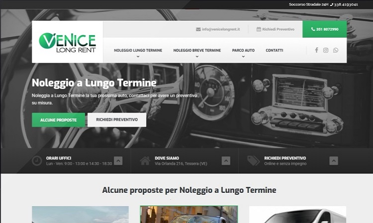 OurWeb Web Agency Venice Long RENT
