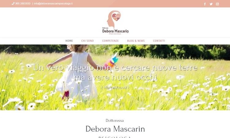 OurWeb Web Agency debora mascarin psicologa