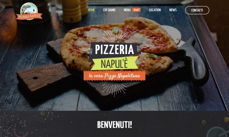 OurWeb Web Agency - Pizzeria Napul'è