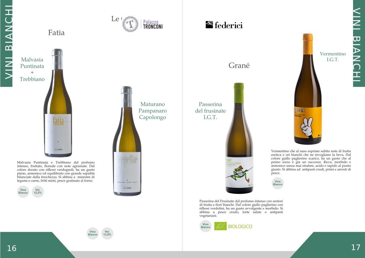 Ourweb Web Agency catalogo vini greenfood