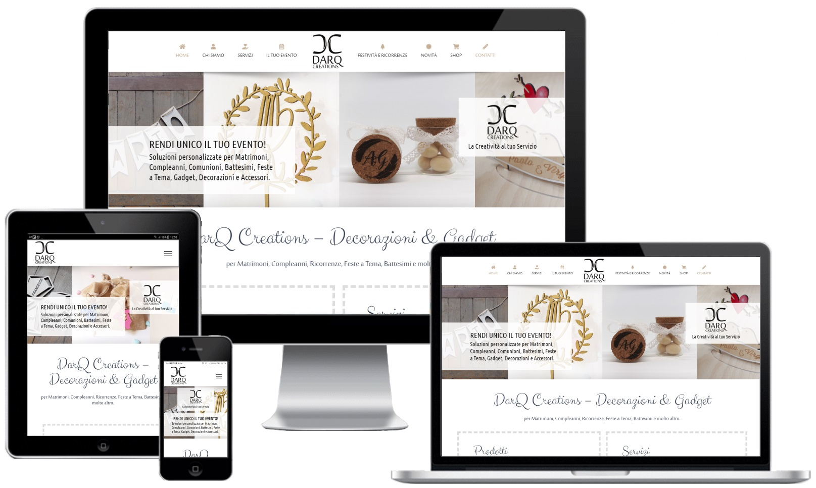 ourweb web agency - darq creations